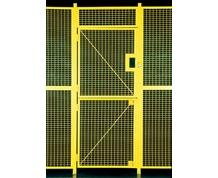 HIGH SECURITY WIRE PARTITION SYSTEM: DUTCH DOORS